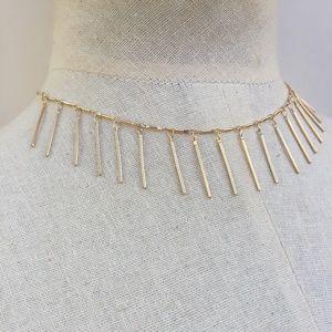 JPeace Designs Gold or Silver Fringe Necklace